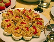 eier als vorspeise